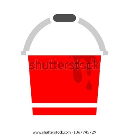vector painting bucket