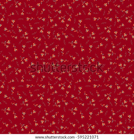 vector paisley floral pattern