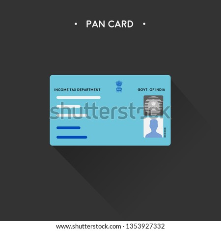 Vector PAN Card