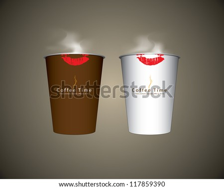 Vector 2 Paper coffee cup