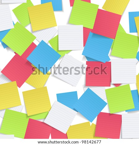 Vector paper collection