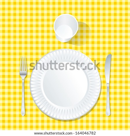 Paper Picnic Plates - Download Free Vector Art, Stock Graphics & Images