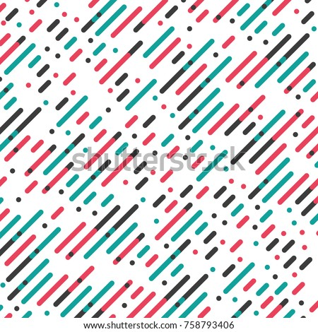 Vector Parallel Diagonal Overlapping Color Lines Pattern Background
