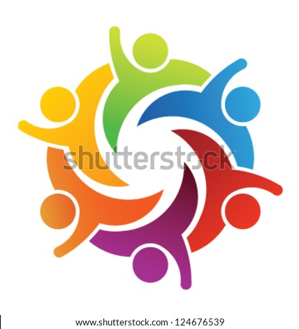 vector party people logo