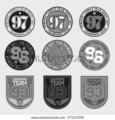 vector patch grayscale