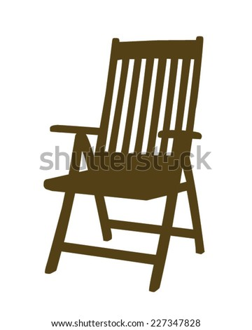 Vector patio chair
