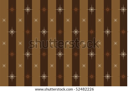 vector pattern illustration of Christmas gift paper