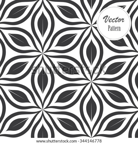 vector pattern monochrome