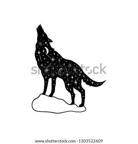 vector patterned polar howling