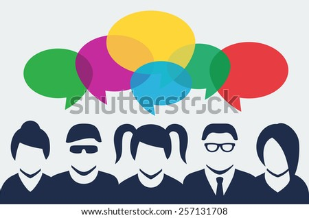 stock-vector-vector-people-silhouettes-with-colorful-dialog-speech-bubbles-above