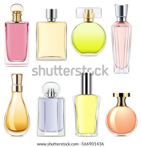 Vector Perfume Icons