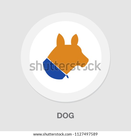 vector pets allowed sign symbol. animal puppy. dog illustration isolated