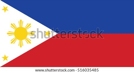 Vector Philippines flag, Philippines flag illustration, Philippines flag picture, Philippines flag image,