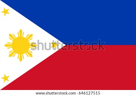 vector philippines flag