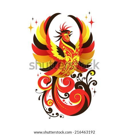 Russian Bird National Russian Bird Logo