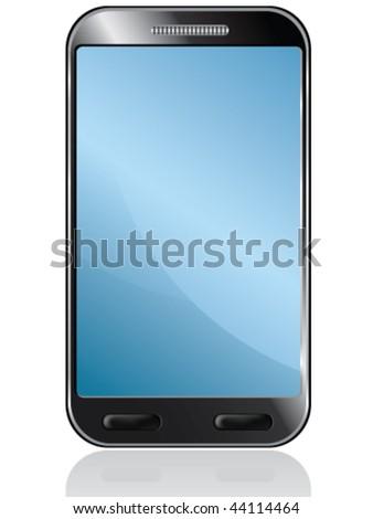 vector phone - stock vector