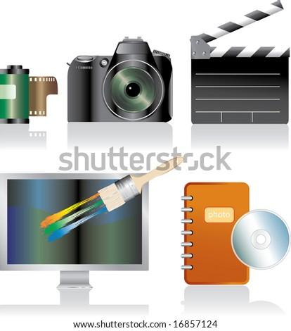 camera logo vector. camera logo vector