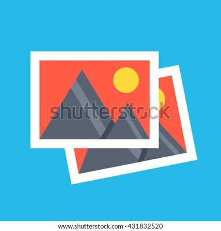 vector photos icon two photos