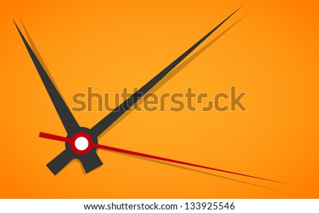 vector picture of analog clock