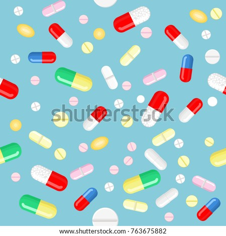 vector pills and capsules in