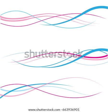 Vector pink abstract background pink waves, color line for wedding and valentine day. abstract pink wave lines wave texture background web design abstract card abstract banners for business finance.