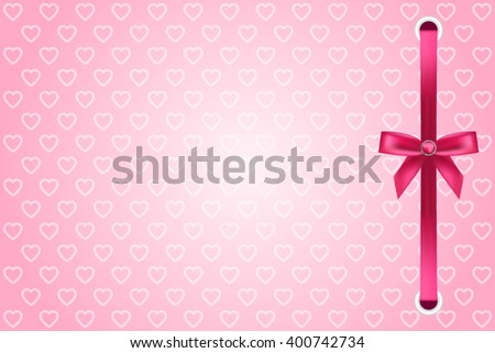 vector pink background with