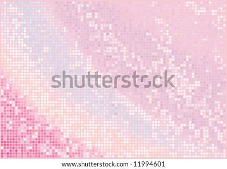 vector pink glamour glitter background - stock vector