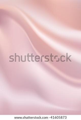 Vector pink silk background