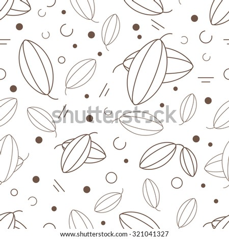Vector pistachio seamless for design wrapping paper, packaging chocolates, packages for chocolate, scrap-booking