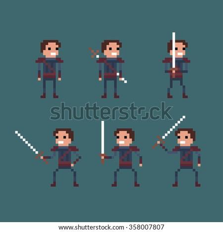 vector pixel art fantasy