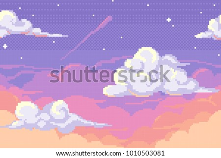 vector pixel background with
