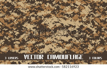 vector pixel camouflage