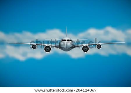 Vector  plane  - Shutterstock ID 204124069