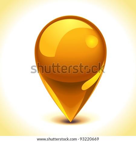 Vector pointer icon