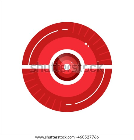 vector pokeball icon for play