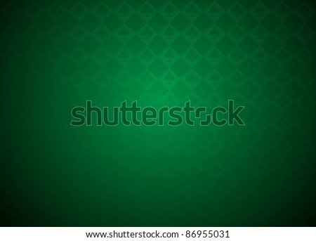 Vector Poker against with colorful background