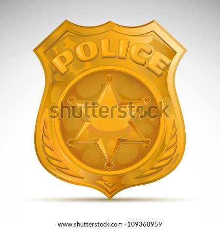 Vector Images Illustrations And Cliparts Vector Police Badge