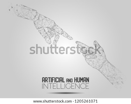 vector polygonal art style