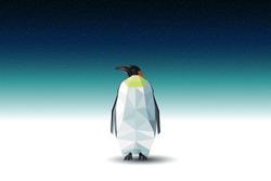 Vector polygonal penguin