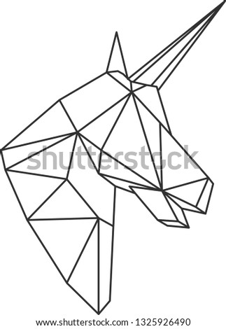 vector polygonal triangular