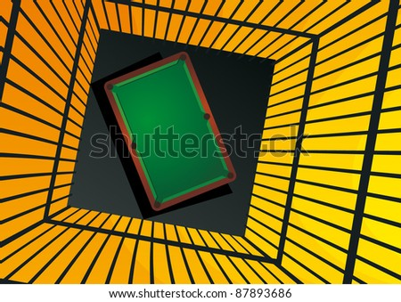 vector pool table background with space for your text