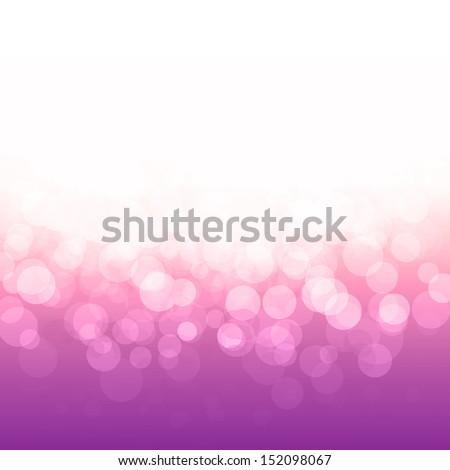 vector popular bokeh pink