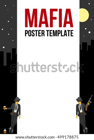 vector poster of flyer template