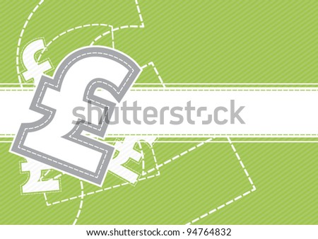 vector pound icon money sign background, business concept