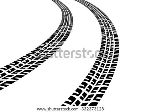 tire tracks download free vector art stock graphics images rh vecteezy com tire track vector free tire tracks vector illustration