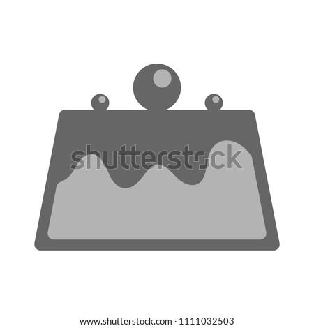 vector Pudding dessert, sweet chocolate illustration - cake