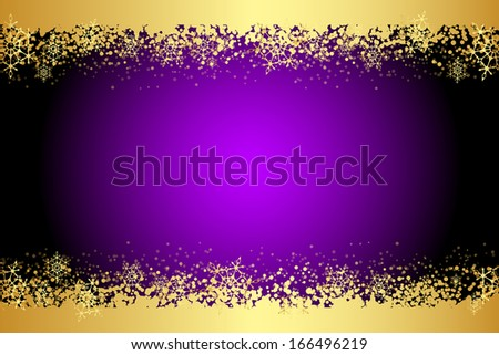 vector purple frame with
