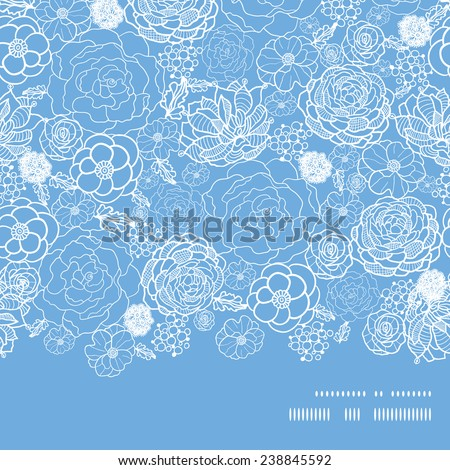 vector purple lace flowers