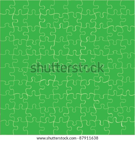 vector puzzle jigsaw