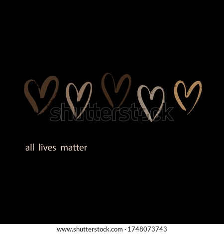 vector quote all lives matter